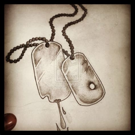 dog tag tattoo designs the gallery for gt tags designs