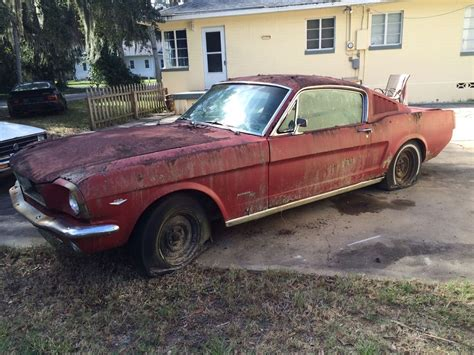 cars for sale ford mustang 1966 ford mustang fastback c code 289 v8 complete project