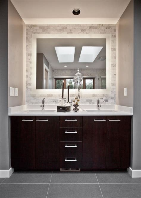 bathroom with dark cabinets best 25 modern bathroom vanities ideas on pinterest
