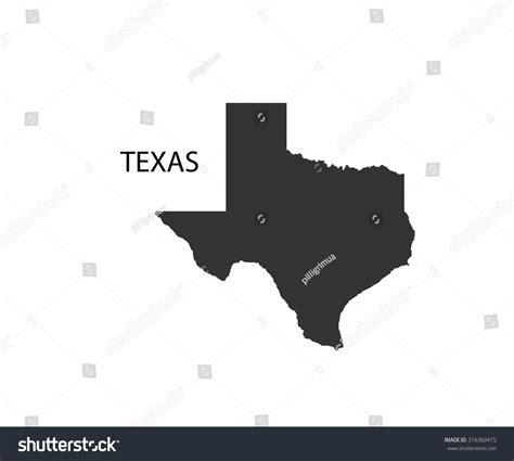 texas vector map concept map texas vector design illustration stock vector 316360415