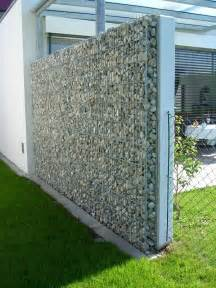 gabion wall how to use it in the garden landscaping
