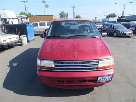 1994 plymouth voyager mpg 1994 plymouth voyager used 3l v6 12v automatic minivan