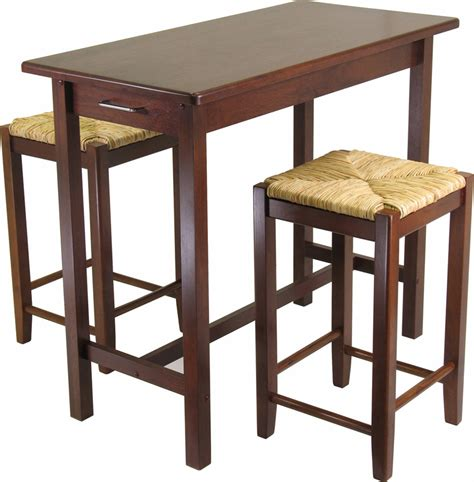 Small Table With 2 Stools by Kitchen Tables With Stools 2017 Grasscloth Wallpaper