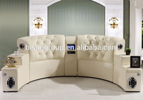 music beds modern home music round bed furniture leather round bed