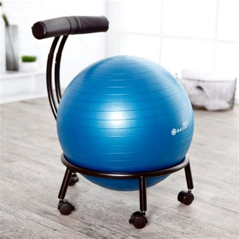 Chair Balls For Office by Gaiam Custom Fit Adjustable Balance