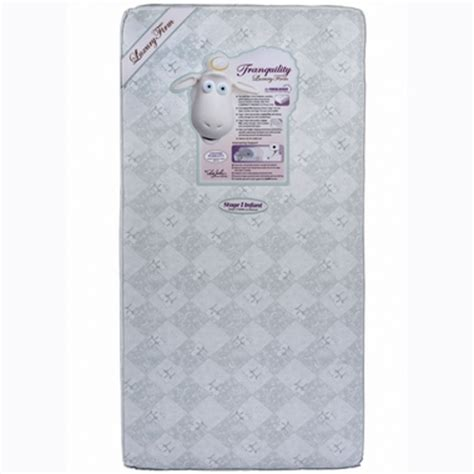 Serta Tranquility Firm Crib Mattress by Tranquility Eco Firm Crib Toddler Bed Mattress By Serta