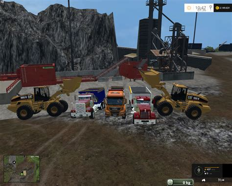 Miners Ls by Truck For The Mining Map V 2 0 For Fs 2015 Farming