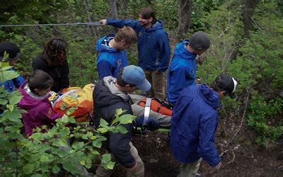wilderness aid emergency care in remote locations books wilderness aid fortune bay expedition team