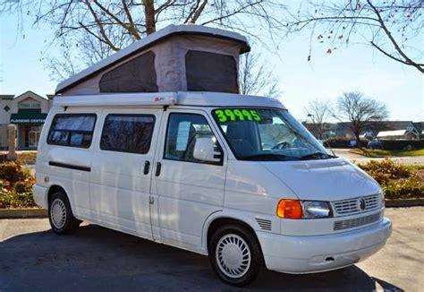 rvs  winnebago vw eurovan camper  sale  owner