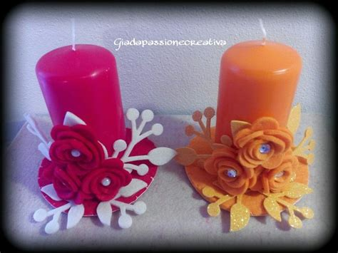 decorare candele oltre 25 fantastiche idee su candele decorate su