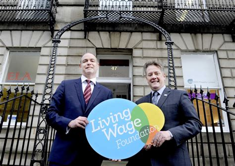 Edinburgh Mba Accreditation by Anglian Water Business Becomes Accredited Living Wage