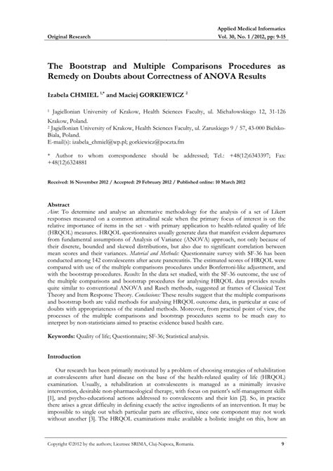 research paper with anova test research paper results section anova