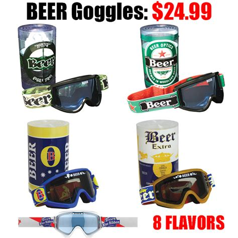 motocross beer beer goggles pro style mx