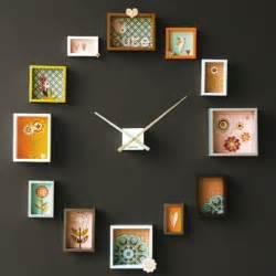 photo framing ideas creative photo frame clock ideas for interior