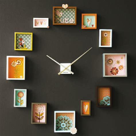 photo framing ideas creative photo frame clock ideas for interior