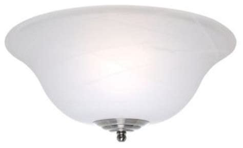 Ceiling Fan Globe Covers casablanca glass bowl ceiling fan light cover with white
