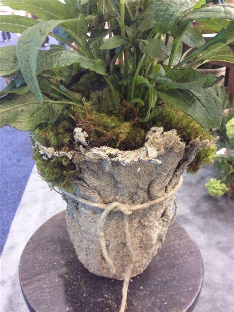 hypertufa garden light weight hypertufa dip burlap in hypertufa mix shape