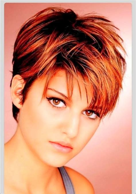 pixie haircut overweight short hairstyles for fat faces google search hair