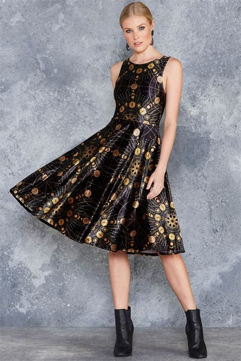 Midi Dress Valena Murah Limited sacred fractals velvet princess midi dress limited