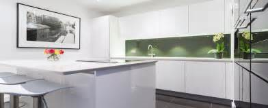white high gloss lacquer kitchen