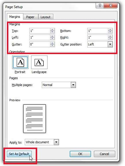 setting margins in word how to set default margins in word 2010 solve your tech