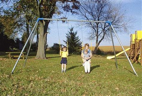 large metal swing sets steel metal swing set extra heavy duty 4 swing ish