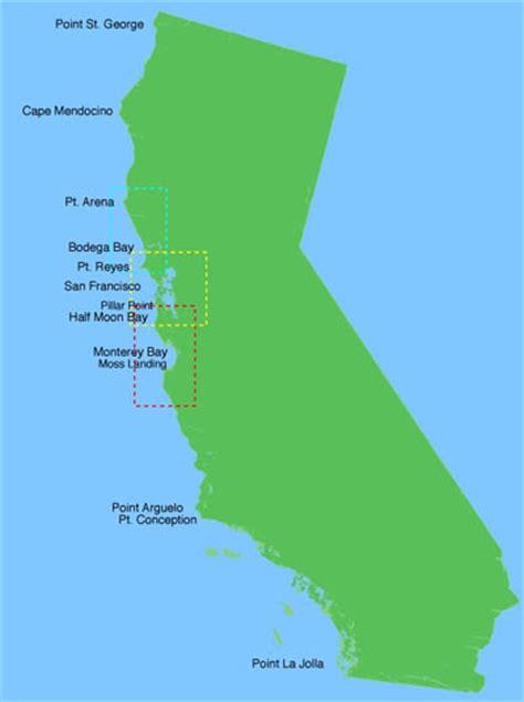 map of bay california monterey bay california map