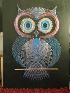 Owl String Template - string the great rucksack revolution