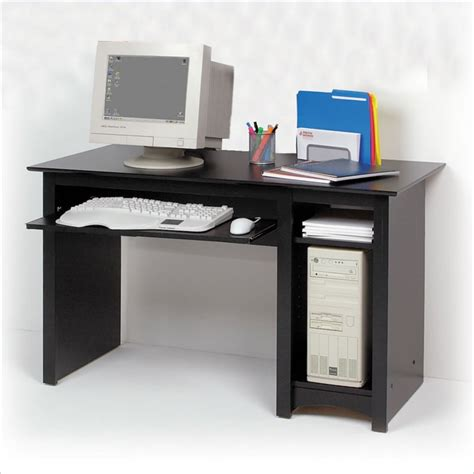 Black Wood Computer Desk Wooden Computer Desks For Home Exciting Small Wood