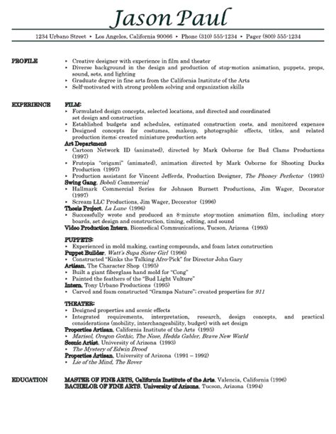 Sample Resume Template resume samples 001a7 yourmomhatesthis
