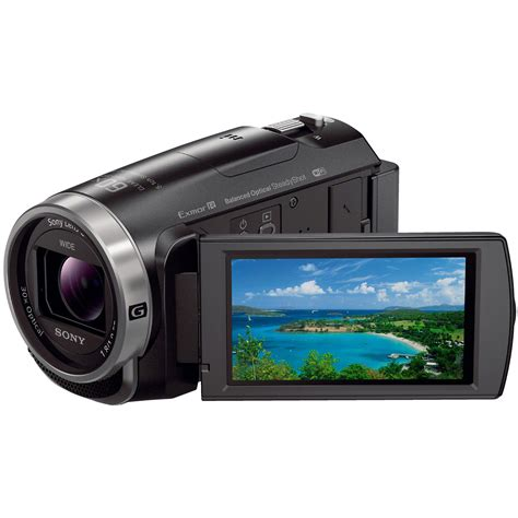 full hd video camera sony hdr cx675 full hd handycam camcorder with 32gb hdrcx675 b