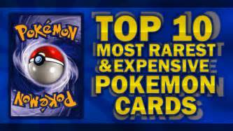 Top 10 rarest and most expensive pokemon cards 2013 2014 youtube