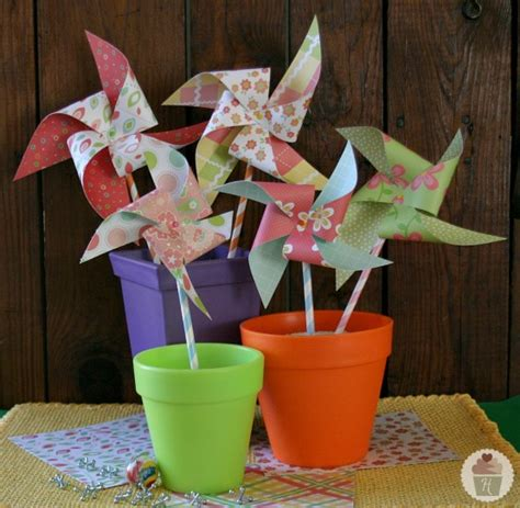 How To Make A Pinwheel With Paper - how to make a pinwheel hoosier