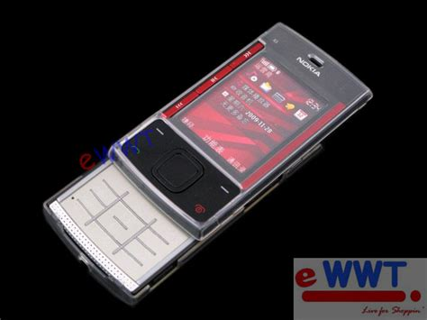 Casing Hp Nokia X3 00 for nokia x3 00 cover clear lcd auctions buy and sell findtarget