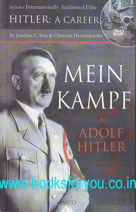 adolf hitler biography in marathi language mein kf with dvd books for you