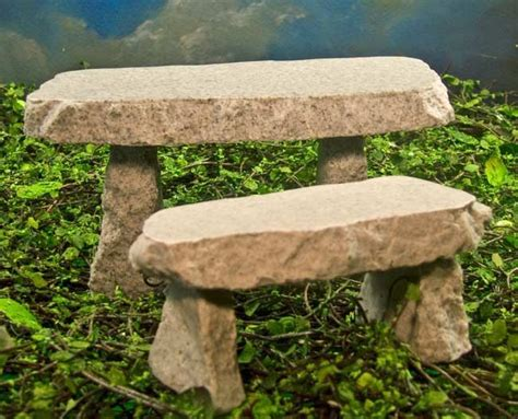 rock benches for garden mini stone bench