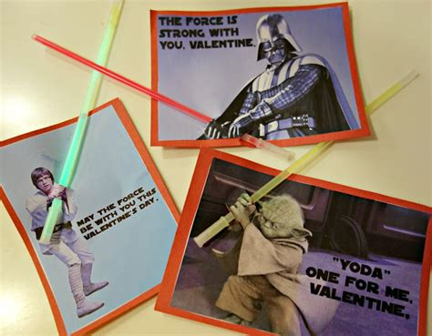 printable star wars valentines with glow stick butler family bugle kid valentine s 2013