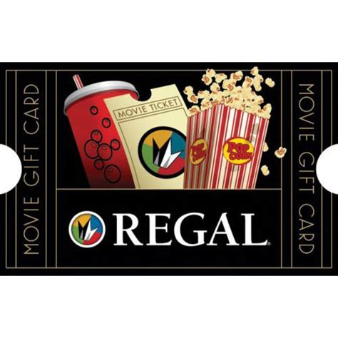Movies Gift Card - buy a 50 regal movie gift card get a bonus 10 code email delivery ebay