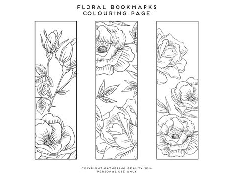 printable bookmarks to colour pdf coloring bookmarks printable bookmark coloring pages home