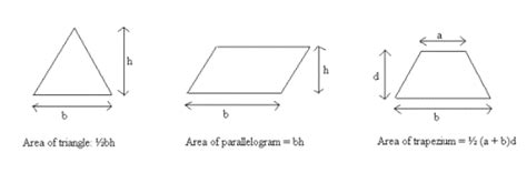 cross sectional area of trapezium areas and volumes volume surface area gcse maths