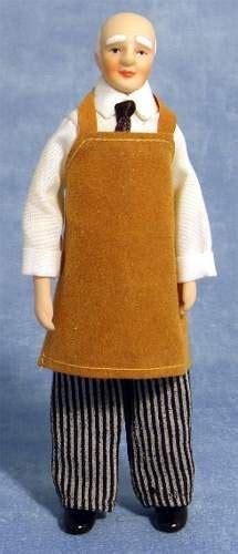 maggiordomo casa delle bambole hb0018 maggiordomo