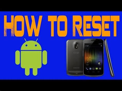 reset android htc phone how to hard reset htc android phones