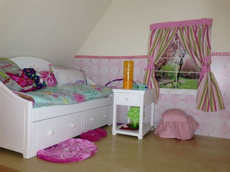 how to make an american girl bedroom bedroom for american girl doll dolls furniture pinterest