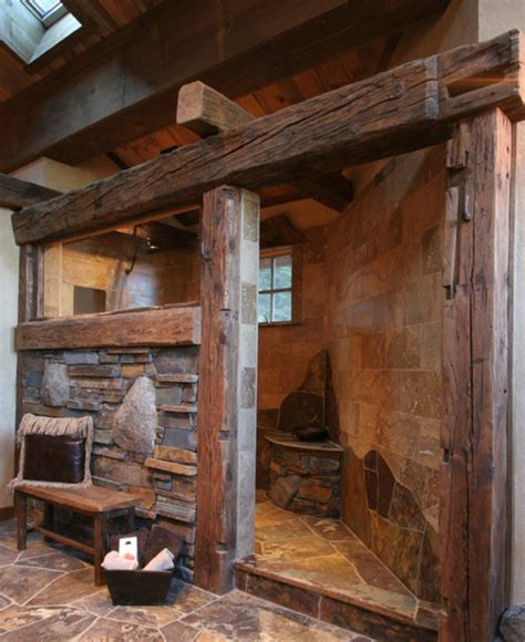 bathrooms in log homes 12 insanely gorgeous log house bathrooms hick country