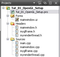 qthread tutorial in qt hello quad basic opengl app with qt graphic