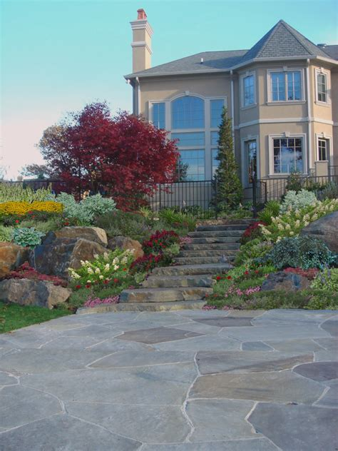 walkways stonework and masonry nj stone masons natural stone masonry patio walkway cipriano landscape