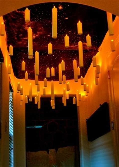 20 Harry Potter Party Ideas ? Floating Candles In Great