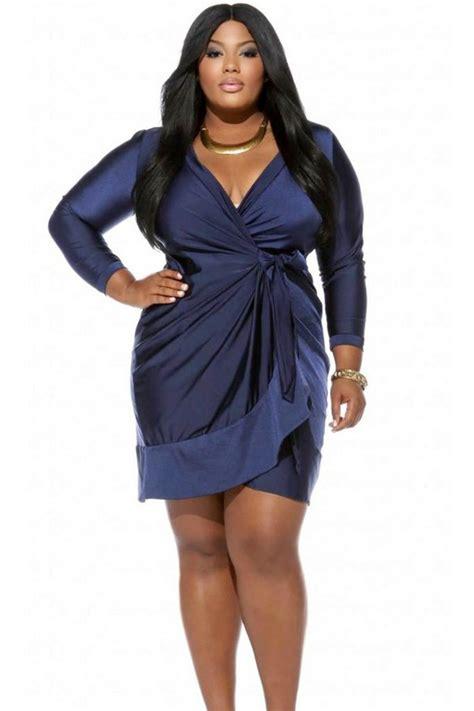 Wrap Dress - plus size wrap dress dressed up