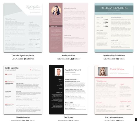 Resume Template 50 by 50 Free Resume Templates For Microsoft Word Komando