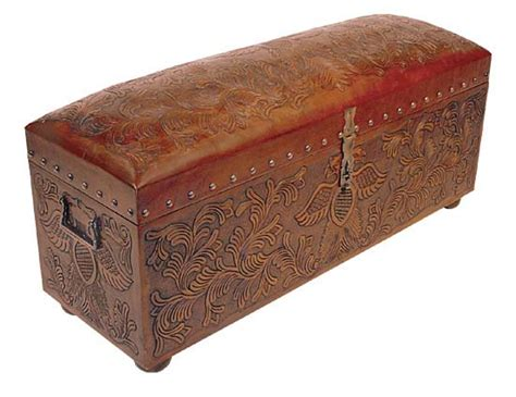 western bench phoenix jumbo trunk bench western passion